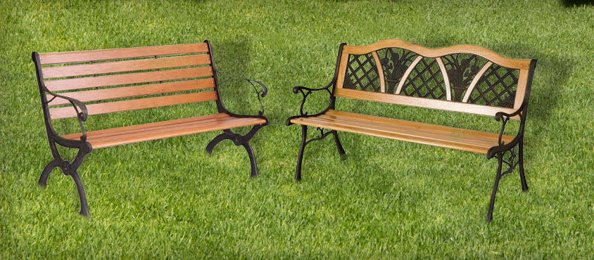 We have a wide range of benches in many  different styles. A resting place to sit and  admire your garden.